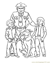 Police Coloring Pages Coloring Pages To Print Color Printing 4
