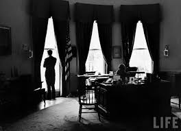 jfk in oval office. Photograph From The U. S. Department Of State In John F. Kennedy Presidential Library And Museum, Boston. Jfk Oval Office