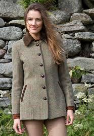 lottie coat harris tweed k165