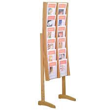 magazine racks for office. wooden mallet ac12fs freestanding 12pocket magazine rack racks for office