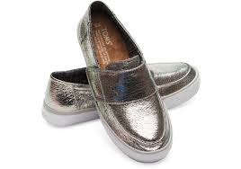metal leather women s altair slip ons rollover to zoom 1 2