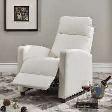 Saipan Modern Fabric and Leather Recliner Club Chair iNSPIRE Q Modern -  Free Shipping Today - Overstock.com - 20124820