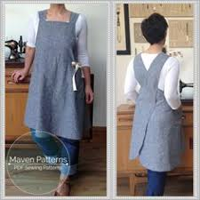 Japanese Apron Pattern Beauteous The Hearty Home A Japanese Style Apron Tutorial I Have Been
