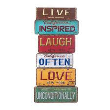 buy wholesale live love laugh wholesale vintage license plates design quotlive love laughquot wall d