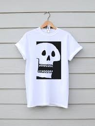 Cool Shirt Designs For Guys Skull Shirt Skull Print Skull Tshirt Skulls T Shirts Graphic