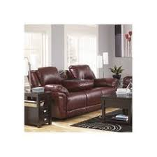 ashley magician garnet reclining sofa with pull down table getting this with a matching recliner for entertainment room