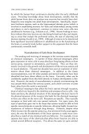 the developing brain from neurons to neighborhoods the page 191