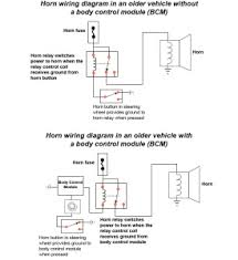 horn doesn t work ricks auto repair advice ricks auto horn wiring diagram wiring diagram for horn