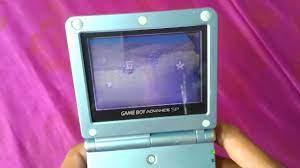 Game Boy Advance SP 2 đèn - YouTube