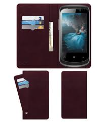 Celkon A9+ Flip Cover by ACM - Red ...