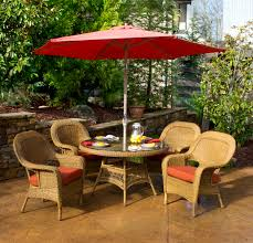 Patio Patio Dining Sets With Umbrella Styles Sears Outdoor Small