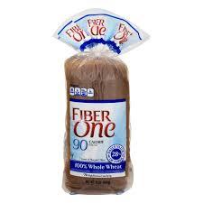 fiber one 90 calorie bread 100 whole wheat