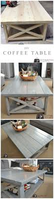 Diy rustic coffee table Table Plans Think Might Need Larger Tray To Go On My Diy Coffee Tableu2026 Strictly For The Aesthetics Of Proportion And Not At All Because This Was So Easy Cant 100 Things Do Diy Coffee Table Rustic