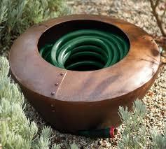 Pottery Barn Global Garden Hose Pot