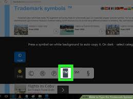 Trademark Symbol Copy Paste 8 Ways To Type The Trademark Symbol Wikihow