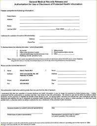 Medical Records Release Form Example 24 Free Medical Release Form Pay Stub Template 10