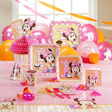 minnie mouse party decorations minnie first birthday decorations weed toon cute twin baby kids playing time cover templates