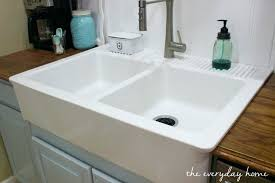 farm sink with drainboard sink with drainboard new farmhouse sink the everyday home awesome fresh farmhouse farmhouse sink with drainboard uk