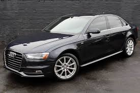 audi a4 2014 black. Plain Black 2014 Audi A4 20T Quattro Premium Plus AWD 4dr Sedan 6M  Great Neck NY For Black 3