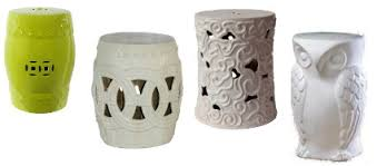 ceramic garden stools. Thumbing Though The Latest Home Decor Magazines And Inspiration Sites, I Have Noticed Ceramic Garden Stools Used Throughout Indoor Outdoor Spaces. T