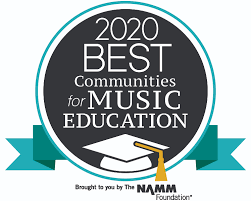NNPS named a 2020 Best Community for Music Education District