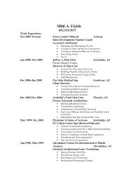 Sample Esthetician Resume Resume For Study