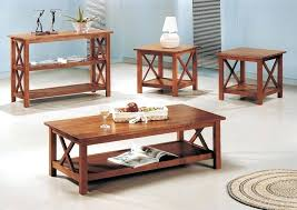 end tables oak coffee and end table sets furniture 3 brown set ashley