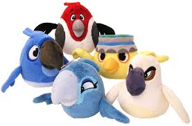 New Rio and Angry Birds Toys Hit the Market | Angry bird plush, Bird toys, Angry  birds