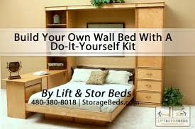 Zoom Room Murphy Bed Build Your Own Wall Bed With A Do It Yourself Kit From Lift Stor
