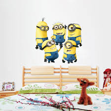Minion Bedroom Wallpaper Aliexpresscom Buy Wholesale Cartoon Despicable Me 2 Minions