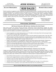 Outside Sales Resume Template Resume Builder