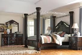 Ashley Furniture Laddenfield Canopy Bedroom Set #Bedroom #BedroomSet