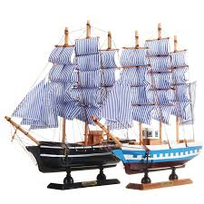 33cm x 6cm x 30cm wooden ship assembly classical wooden sailing boats model scale model ship kits