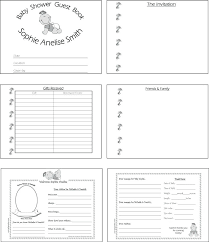 Baby Book Template Example Birthday Guest Book Template Free Design Baby Pages