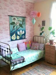 amazing kids bedroom ideas calm. Beautiful Jewel Tone Colors In This Older Girl\u0027s Room With Vintage Iron Bed. Amazing Kids Bedroom Ideas Calm