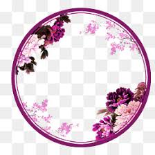 Flower Circle PNG Vectors and PSD Files