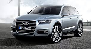 new car 2016 suvFuture Cars Audi Sharpens its Scalpel for New Q7 SUV