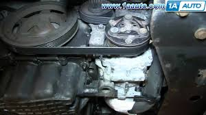 how to install replace power steering belt 2 7l chrysler sebring how to install replace power steering belt 2 7l chrysler sebring