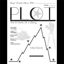 Plot Chart For Short Story Plot Chart Diagram Arc Pixar Short Films Study W Answer Keys