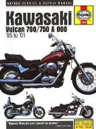 haynes kawasaki vulcan service manual haynes kawasaki vulcan 700 750 800 1985 2004 service manual