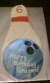 Bowling Pin Cake Decorations HowTo Make a Bowling Ball Pin Birthday Cake Scrap Cake and 60