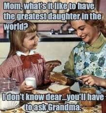 Like Mother, Like Daughter: 50 Best Mom Memes - mom.me via Relatably.com