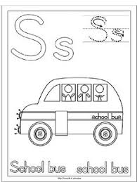 Small Picture school bus stencil Kids craft project Back to School Bus
