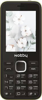 Мобильный <b>телефон Nobby 221</b> Black/Yellow - купить кнопочный ...