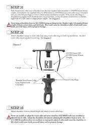 step 31 step 32 step 33 aladdin light lift all700rm cm 240v user manual page 16 21