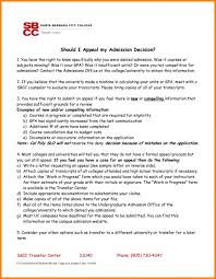 College Appeals Letter Ibovjonathandedecker Extraordinary Academic Appeal Letter