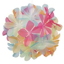 Paper Flower Lamp Flower Lampshade Amazon Co Uk