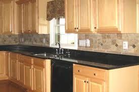 black granite countertops with tile backsplash. Contemporary Black Tags Black Granite Countertops  Throughout Black Granite Countertops With Tile Backsplash T