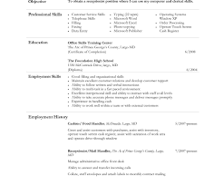 Data Entry Job Description For Resume Resume Template Cashier Jobion For Outstanding Fast Food Examples 99