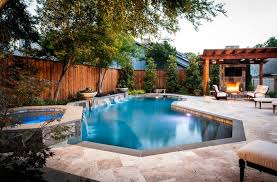 Backyard Pools Designs Custom Pool Design Trends For 48 You'll Love Little Luxe Lookbook
